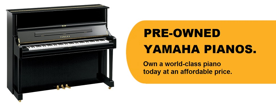 Come check out our store for pre-owned pianos!
